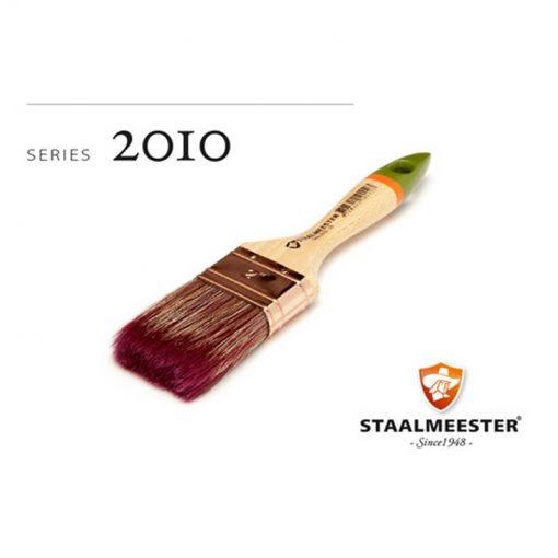 STAALMEESTER serie 2010- Platte kwast