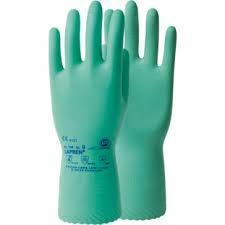 Lapren handschoen-groen-XL